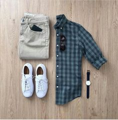 Men Casual Shirt Outfit 🖤 Very Attractive Casual Outfit Grid, Smart Casual Outfit, Outfits Casual, Stylish Mens Outfits, Mode Outfits, Sport Outfits, Fashion Outfits, Fashion Clothes, Vegas Outfits, Club Outfits