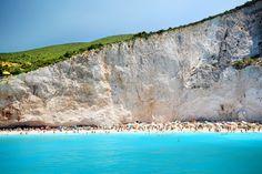 Porto Katsiki, Lefkada by Jens Svanfelt on 500px - This color is a natural phenomenon! Love it ...