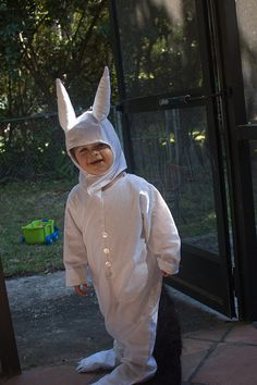 I want to find this thing I made... and recycle it for Toby.  (Henry was cute as can be as Max, no? I never did make a crown, and this year there will also be whiskers. Oh dang thing, I WILL find you.)