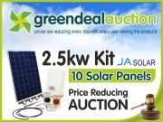 You could win solar panels for free at GreenDeal Auction #solarpanelsforfree