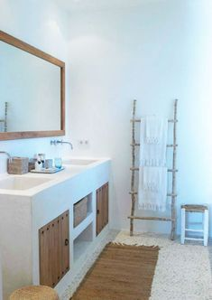 Amazing and Unique Tips Can Change Your Life: Bathroom Remodel Walls Framed Mirrors bathroom remodel laundry rooms.Bathroom Remodel Shower Walk In guest bathroom remodel wood shelves.Mobile Home Bathroom Remodel Ideas. Rustic Bathroom Designs, Rustic Bathrooms, Bathroom Interior Design, Cob House Interior, Diy Interior, Bad Inspiration, Bathroom Inspiration, Bathroom Colors, Bathroom Sets