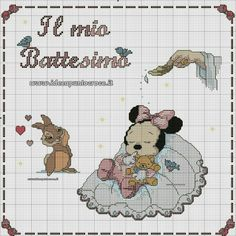 Battesimo Minnie