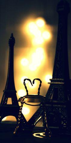 Eiffel bokeh