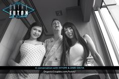 +100,000 views across all channels Incomparable Hitomi & Anri Okita interview!  Hitomi & 沖田杏梨のインタビューはダントツの+100,000 再生回数を達成しました!  OrganicCouples.com/futon Anri, My Website, Conversation, Selfie, Selfies