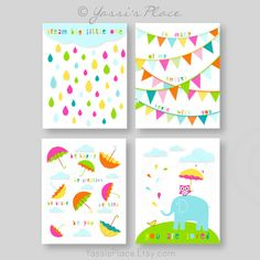 Items similar to Nursery Decor- Kids Wall Prints- Set of 4 - For Girl or Boy- Dream Big-You Are Loved-So many of my smiles begin with you- Be you - UNFRAMED on Etsy Baby Girl Nursery Decor, Nursery Wall Decor, Nursery Art, Bright Nursery, Playroom Decor, Nursery Ideas, Boy Wall Art, Boy Art, Thing 1