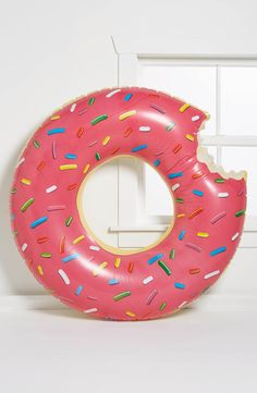 Women's Big Mouth Toys 'Gigantic Donut' Pool Float from Nordstrom. Saved to summer 🌞.