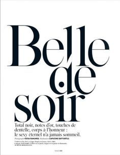 Malgosia bela by katja rahlwes for vogue paris march 2014 Typography Layout, Typography Quotes, Typography Inspiration, Typography Letters, Typography Poster, Hand Lettering, Editorial Layout, Editorial Design, Editorial Fashion