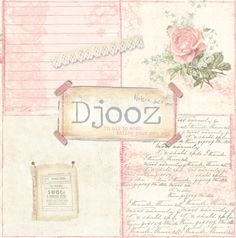 """DJOOZ Wallpaper book """"Front page"""""""