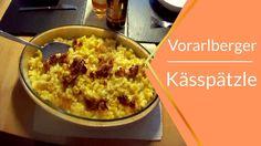 Kässpätzle oder auch Käsknöpfle sind eine regionale Spezialität aus Vorarlberg Macaroni And Cheese, Oatmeal, Breakfast, Ethnic Recipes, Food, Food And Drinks, Food Food, Recipes, Mac And Cheese