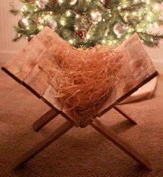wood manger