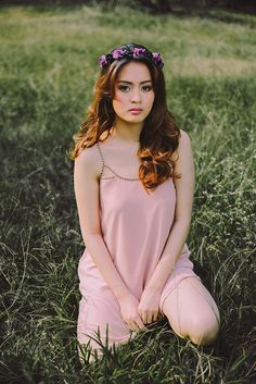 Pastels and Nature Collide For a Chic Pre-Debut Shoot - MyDebut.ph