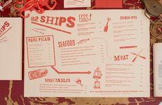 menu_f_8 Menue Design, Menu Card Design, Business Card Design, Stationery Design, Creative Business, Layout Design, Design Design, Business Cards, Design Ideas