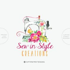 Welcome to Jupiter Street Designs! I am excited to present my line of pre-made logos. Premade logos are a great, inexpensive way to add a professional touch to your business. Great for photographers, bloggers, etsy sellers, and more! ALL MY LOGOS COME WITH FREE FONT CHANGES. Any font you see in my shop, I can try for you :) This logo will be changed to reflect your company name upon purchase. --OPTIONS-- 1. LOGO ONLY - You will receive 3 files with your logo- -JPG -PNG (transparent back...