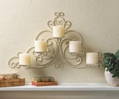 Vintage Scollwork Wall Sconce