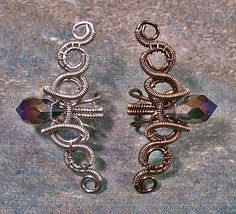 These Delicately Coiled Steampunk Ear Cuffs Are Masterpieces