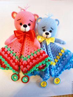 Купить Игрушка комфортер. - комбинированный, вязание спицами, игрушка вязанная, игрушка мягкая, игрушка набивная