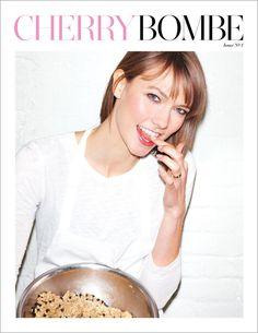 Cherry Bombé Magazine (revista de cocina ) donde explicó sus galletas , su fin y dio a conocer una de las recetas , además de cómo se conoció con sus socia/chef . Marzo 2027