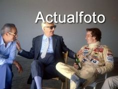Enzo Ferrari e Gilles