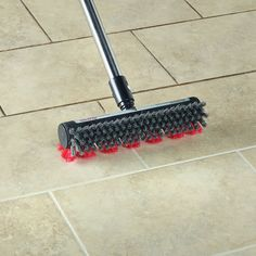 This Would Be Great To Clean Huge Tile Showers Tsg Inc The Superior Grout Scrubber Hammacher Schlemmer
