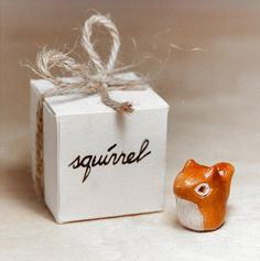 Squirrel Animal Totem One of a Kind Handmade by RamalamaCreatures