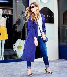 Rebeca Labara de A Trendy Life en busca de sus zapatos favoritos