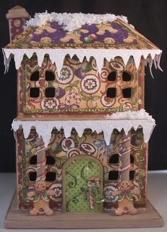 Gingerbread House - Not just scrap
