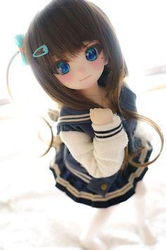 Beautiful Barbie Dolls, Pretty Dolls, Anime Dolls, Bjd Dolls, Fairy Dolls, Anime Chibi, Kawaii Anime, Cute Baby Dolls, Cosplay Anime