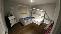 Loft, Bed, Projects, Furniture, Home Decor, Log Projects, Homemade Home Decor, Stream Bed, Lofts