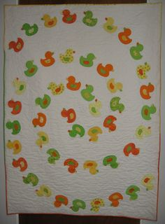 Duckies - Is not this the cutest baby quilt?