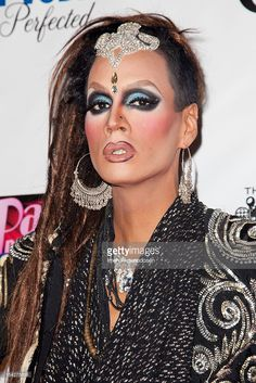 Drag queen Raja attends the premiere of Logo TV's 'RuPaul's Drag Race All Stars' at The Abbey on October 16, 2012 in West Hollywood, California.