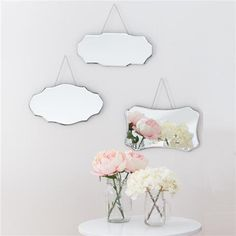 Set of 3 Classic Mirrors   Kmart Use one mirror in wall art display. Use another mirror for inside wardrobe doors.
