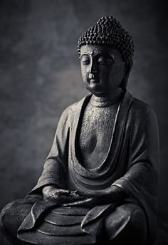 Buy Wallskin Black PVC Free Stone Buddha Statue Wallpaper Online - Pattern & Textures Wallpapers - Furnishings - Home Decor - Pepperfry Product Buddha Kunst, Buddha Zen, Buddha Meditation, Black Buddha, Gautama Buddha, Buddha Buddhism, Buddhism Wallpaper, Buddha Wallpaper Iphone, Buda Wallpaper