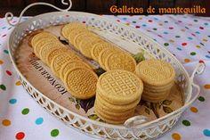 El jardín de mis recetas: GALLETAS DE MANTEQUILLA