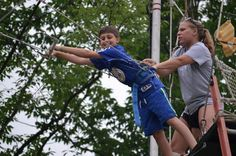 We are so proud of how fearless our campers are!