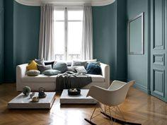 Une table basse en marbre pour un salon luxueux - Quand la table basse est au centre de votre salon