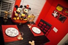 Mickey Mouse kitchen, I'm part way there.
