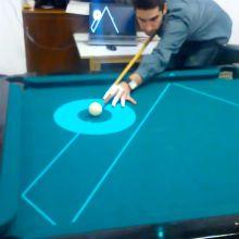 PoolLiveAid é um projeto desenvolvido por Luis Sousa, Ricardo Alves e Rodrigues JMF da Universidade de Algarve, Portugal, para partidas de snooker.