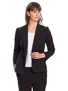 Blazer, Jackets, Women, Fashion, Black, Down Jackets, Moda, Women's, La Mode