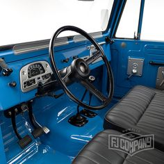 Now available: 1974 Toyota Land Cruiser FJ45 Sky Blue,