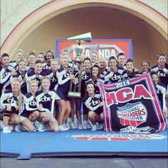 California Baptist University 2014 NCA collegiate national champions
