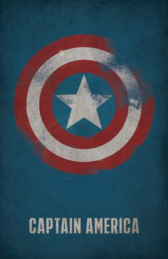 Captain America Poster  Marvel by WestGraphics on Etsy, $18.00