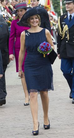 Queen Maxima of The Netherlands is seen during an official visit on 12 June 2013 in Maastricht, Netherlands.