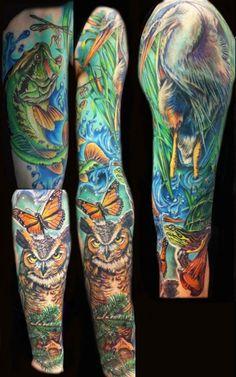 Tattoos by Derek Turcotte