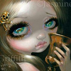 Faces of Faery #211 by Jasmine Becket-Griffith