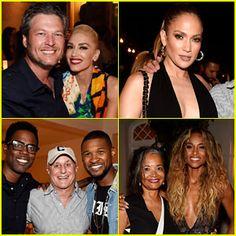 Gwen Stefani Blake Shelton Jennifer Lopez & More Step Out for Apollo in the Hamptons Benefit!