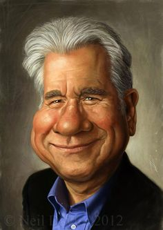 John Larroquette  one of my favorite actors - so smart with his characters, so believable, and he is always compassionate
