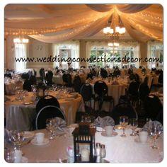 www.weddingconnectionsdecor.com www.facebook.com/weddingdecorating #wedding #decorating #weddings #weddingdecorating #backdrop #decorator #weddingconnections #weddingdecorator #elegant #ceilingcanopy #ingersol #elmhurst #carriagehouse #ingersolwedding #elmhurstinnandspa #grandballroom