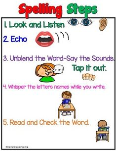 Short e Worksheets (CVC Multi-sensory Spelling) by Smart and Special Teaching