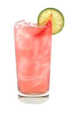 Beachside Peach: 1.5 oz Smirnoff Peach 1.5 fl oz Pineapple Juice 1.5 oz Cranberry Juice Cocktail .25 oz fresh lime juice 2 fl oz ginger ale