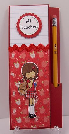 Cute teacher notepad set!